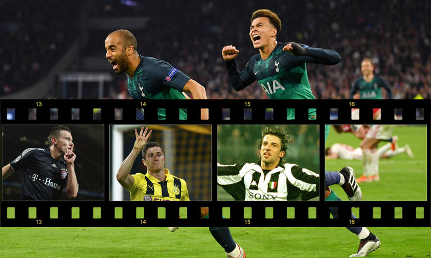 Champions League: Ο Μόουρα έγινε ο 5ος παίκτης που σημειώνει χατ τρικ σε ημιτελικό (vids)