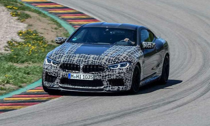 Νέα BMW M8 με πρωτοφανή ηλεκτρονικά συστήματα! (vid)