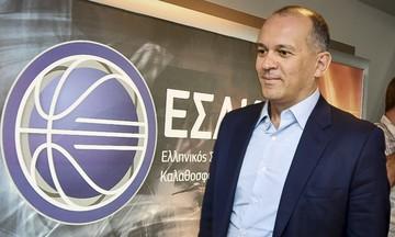 Γιώργος Αγγελόπουλος: «Οι ξένοι διαιτητές δεν είναι θέμα του ΕΣΑΚΕ»