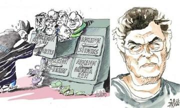 Στέγνωσε το πενάκι: Πέθανε ο σκιτσογράφος Γιάννης Ιωάννου (pic)