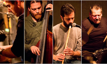 To Harris Lambrakis Quartet στο Jazzèt Cafè