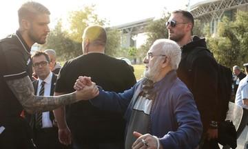 ΠΑΟΚ - ΑΕΚ:  Η άφιξη της ομάδας της Θεσσαλονίκης στο ΟΑΚΑ