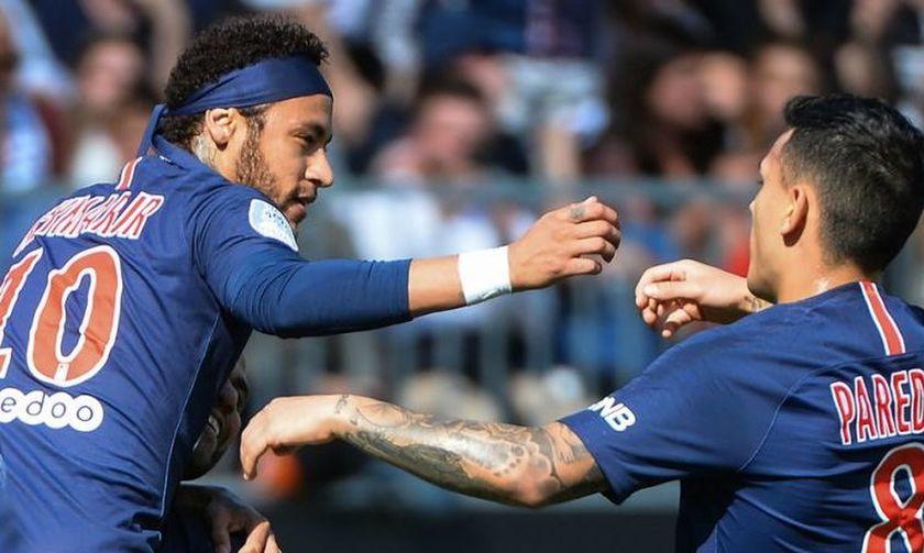 Ligue 1: Επιστροφή στις νίκες για την Παρί Σεν Ζερμέν, 2-1 την Ανζέ
