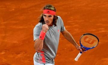 Τσιτσιπάς - Ναδάλ 2-1: Ο Στέφανος στον τελικό του Madrid Open!