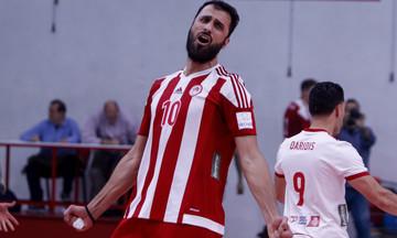 Aνδρεάδης: «Ήταν μονόδρομος το πρωτάθλημα, θέλω να μείνω στον Ολυμπιακό»