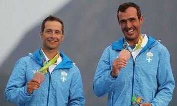 Μέσα στα μετάλλια του ευρωπαϊκού «470» οι Μάντης- Καγιαλής