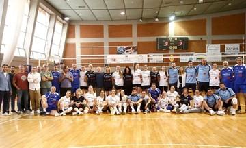 All Stars Volley: Η ιστορία του βόλεϊ συγκεντρώθηκε στην Πετρούπολη! (pics)