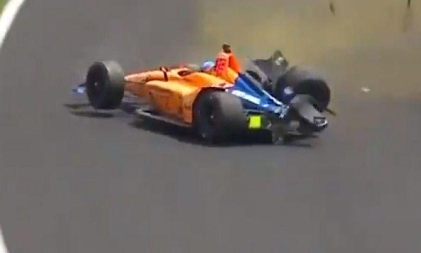 Απίστευτο ατύχημα για Φερνάντο Αλόνσο. Τράκαρε με 360 χιλιόμετρα (vid)