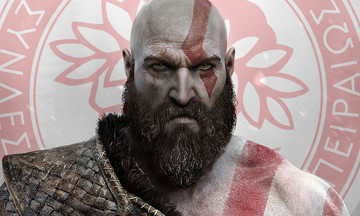 God of War: Στο ντοκιμαντέρ «Raising Kratos» με μπλούζα του Ολυμπιακού! (pic+vid)