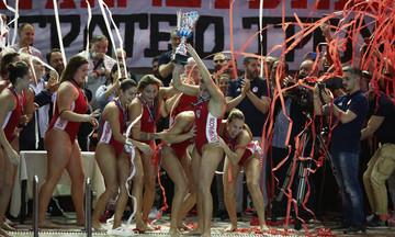 Ο Ολυμπιακός πλησίασε στους τίτλους τη Βουλιαγμένη