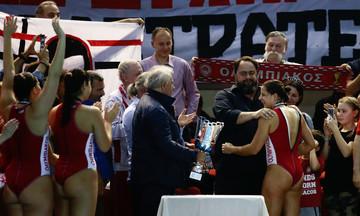 Συγχαρητήρια Μαρινάκη και ΠΑΕ στις πρωταθλήτριες πόλο: «Νέες σελίδες δόξας» (pics)