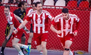 Ολυμπιακός - ΑΕΚ 23-15: Έκαναν το 1-0 οι «ερυθρόλευκοι»