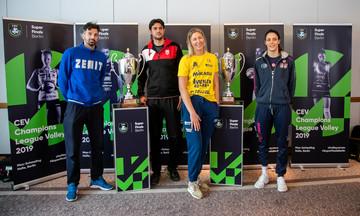 Volley Champions League: Σήμερα οι τελικοί ανδρών και γυναικών στο Βερολίνο