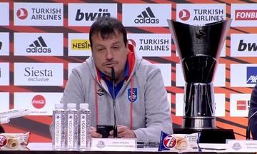 EuroLeague Final Four 2019 - Αταμάν: «Έχω παίξει σε τρεις ευρωπαϊκούς τελικούς και δεν έχω χάσει!»
