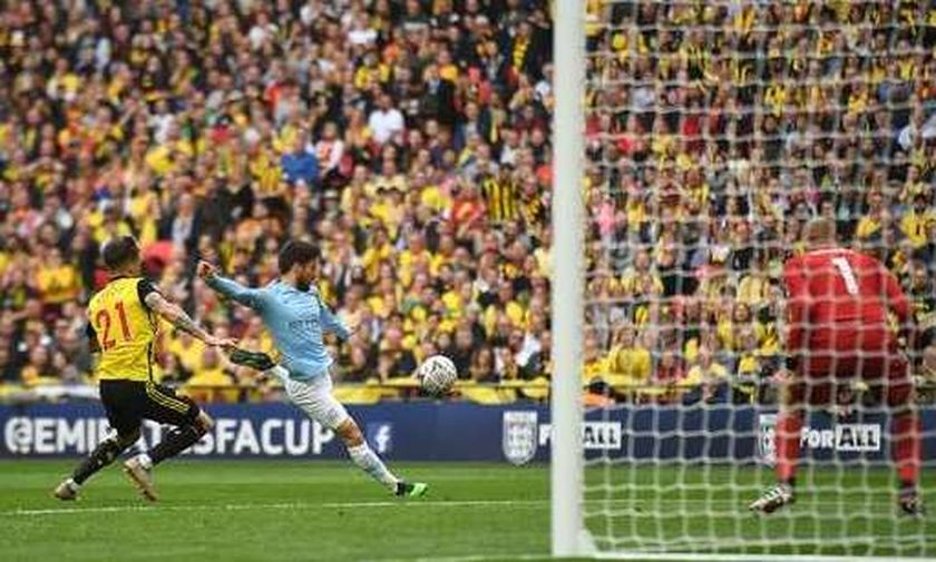 Τελικός Κυπέλλου Αγγλίας: Τα δυο γκολ της Μάντσεστερ Σίτι επί της Γουότφορντ (vid)