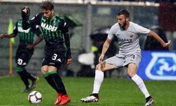 Serie A: Μόνο με θαύμα στο Champions League η Ρόμα, 0-0 με Σασουόλο (αποτελέσματα, βαθμολογία)
