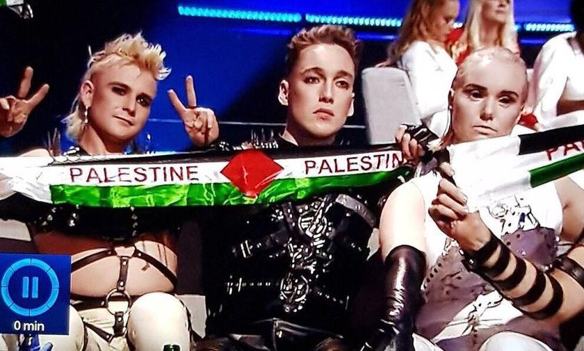 Η εικόνα της φετινής Eurovision: Ισλανδοί υπέρ Παλαιστίνης