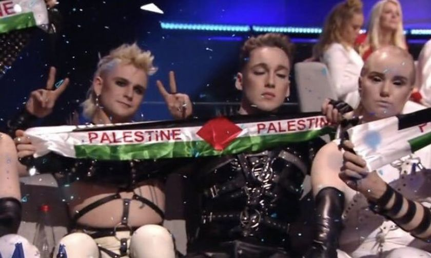 Eurovision 2019: Μετά τις παλαιστινιακές σημαίες, οι διοργανωτές απειλούν με «συνέπειες» τους Hatari