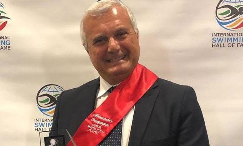 Στο Hall of Fame ο πρώην κόουτς της Εθνικής Ελλάδος, Σάντρο Καμπάνια! (pics)