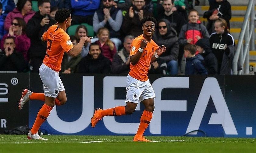Euro K17: Πρωταθλήτρια η Ολλανδία με έξι παίκτες του Άγιαξ στην ενδεκάδα (highlights)