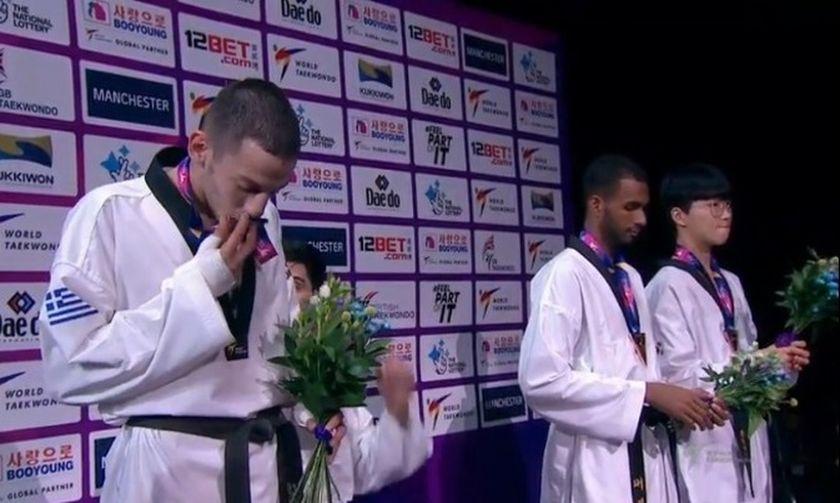 «Ασημένιος» ο Τεληκωστόγλου στο Παγκόσμιο πρωτάθλημα τάε κβον ντο