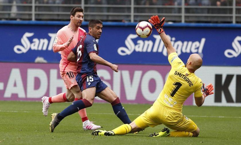 La Liga: Ισόπαλες 2-2 'Ειμπαρ και Μπαρτσελόνα (highlights, βαθμολογία, αποτελέσματα)