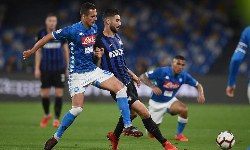 Serie A: Η Νάπολι έβαλε δύσκολα στην Ίντερ (αποτελέσματα, βαθμολογία)