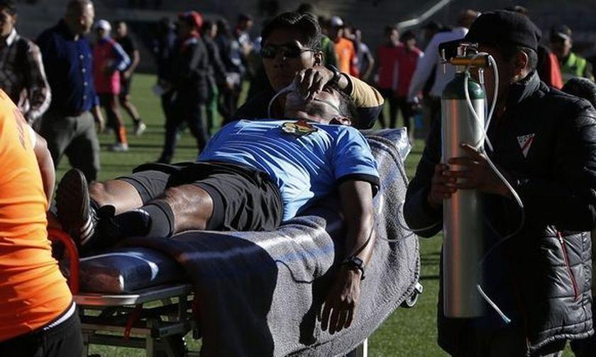 Συγκλονιστικό video: 32χρονος διαιτητής πεθαίνει εν ώρα αγώνα!