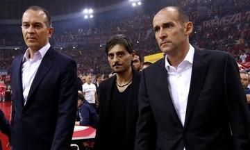 Γιαννακόπουλος προς Αγγελόπουλους: «Σεβαστείτε το άθλημα και την ιστορία του Ολυμπιακού»