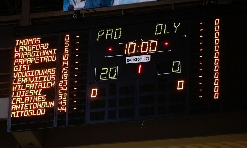 Το φύλλο αγώνα στο ΟΑΚΑ: Ο Αναστόπουλος υπέγραψε τον υποβιβασμό του Ολυμπιακού (pic)