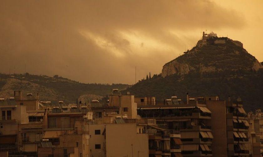 Ο καιρός σήμερα: Αφρικανική σκόνη και ζέστη κάνουν «κατάληψη» στη χώρα