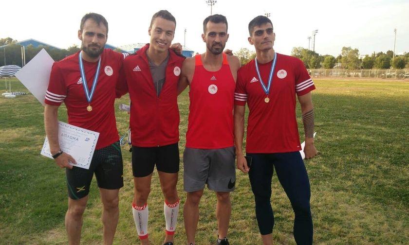 Πρώτος στο διασυλλογικό πρωτάθλημα στίβου ο Ολυμπιακός
