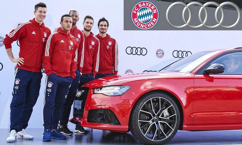 Συνεχίζει με Audi η Μπάγερν