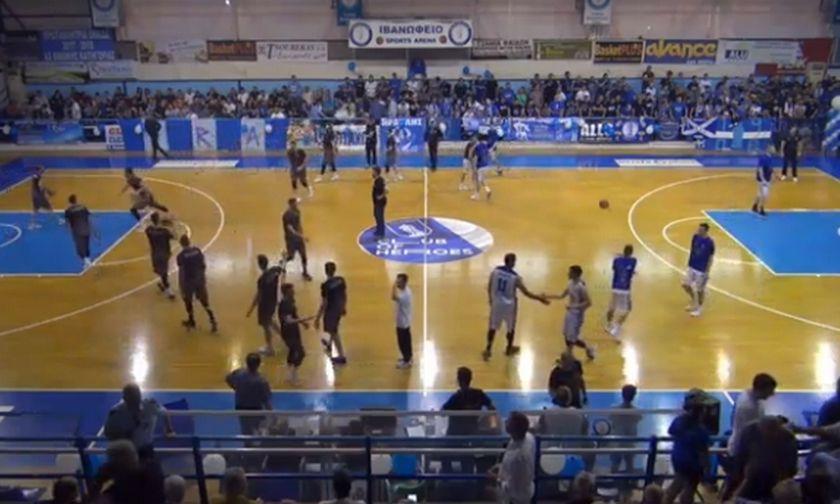 LIVE Streaming: Ηρακλής - Καστοριά 84-61 (τελικό)