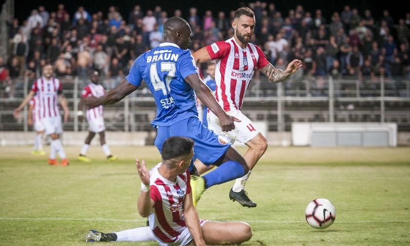 ΟΦΗ - Πλατανιάς: Το πέναλτι-γκολ του Νέιρα για το 1-0 (vid)
