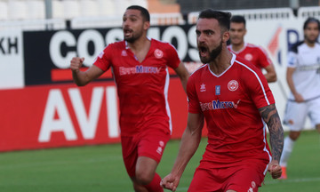 ΟΦΗ - Πλατανιάς: Το γκολ του Τσαμούρη για το 1-1 (vid)