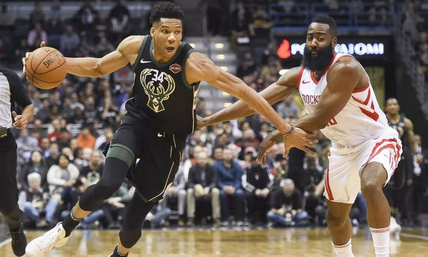 NBA: Ομόφωνα στην κορυφαία πεντάδα της σεζόν ο Αντετοκούνμπο