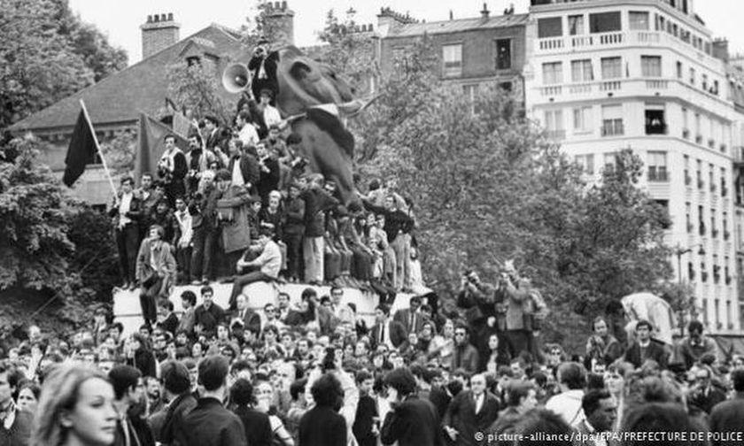 Η αρχή του «Γαλλικού Μάη» το 1968