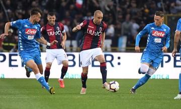 Serie A: Σώθηκε και μαθηματικά η Μπολόνια, 3-2 τη Νάπολι (αποτελέσματα, βαθμολογία)