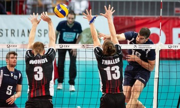 Silver European League: Ήττα 1-3 της Εθνικής Ανδρών από την Αυστρία