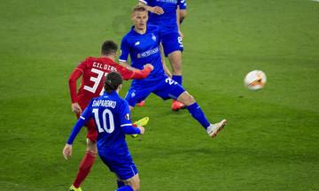 Το εντυπωσιακό γκολ του Ζιλ Ντίας κόντρα στην Ντιναμό Κιέβου στα καλύτερα του Europa League (vid)