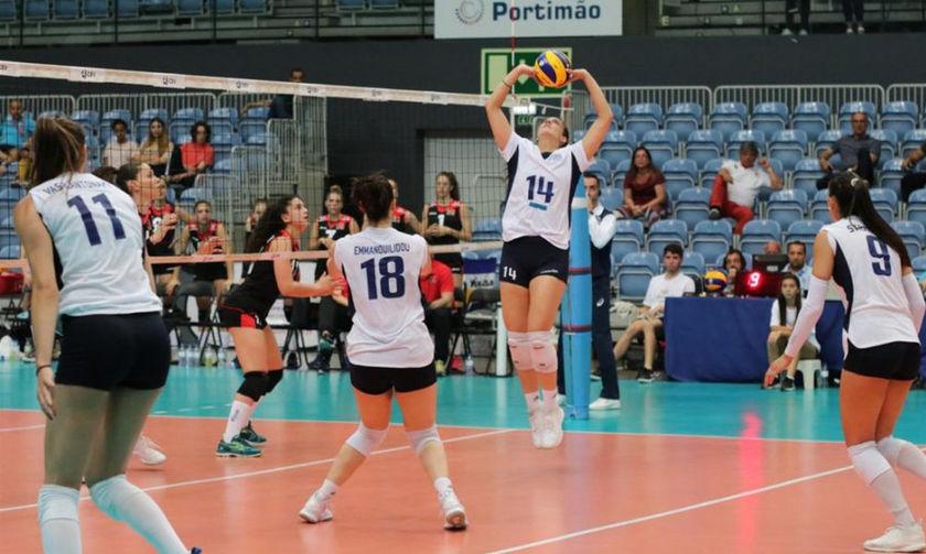 Silver European League: Ελλάδα - Σλοβενία  (Live Streaming): 0-3(19-25, 24-26, 21-25)
