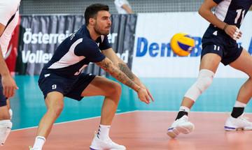 Silver European League Volley ανδρών:  Ελλάδα - Ουγγαρία  3-1 (25-14, 25-23-, 23-25, 25-22)