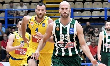 """Περιστέρι - Παναθηναϊκός 68-91: Οι """"πράσινοι"""" έκαναν το break"""