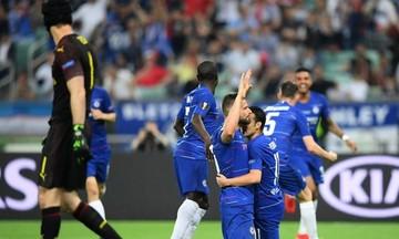 Τελικός Europa League: Μπλε ραψωδία: Η Τσέλσι 4-1 την Άρσεναλ