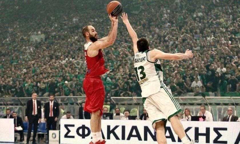 Ο Σπανούλης το κάνει, ο Ολυμπιακός το σηκώνει στο ΟΑΚΑ, στο αντίο του Διαμαντίδη (vid)