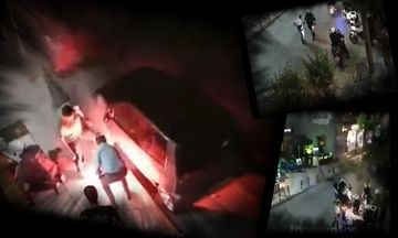 Ξύλο από οπαδούς στη Θεσσαλονίκη - Δείτε το βίντεο