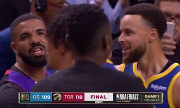 Ράπτορς - Ουόριορς: Ο Drake αποκάλεσε τον Γκριν «σκουπίδι»! (vid)