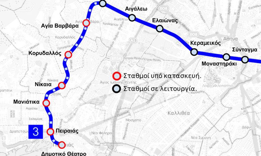 Μετρό: Γιατί καθυστερεί η παράδοση των νέων σταθμών Αγία Βαρβάρα, Κορυδαλλός και Νίκαια;