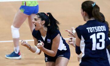 Silver European League Volley γυναικών: Ελλάδα - Πορτογαλία 3-1(15-25, 25-14, 25-19, 25-15)